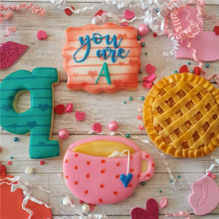 Easy Valentine's day Cookies Decorating Ideas, #valentinesDayCookies