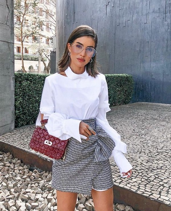 fc0bc6e67 70+ Fashion Women's Shirts & Blouses Trends in Spring and summer 2019,  #WomensShirts