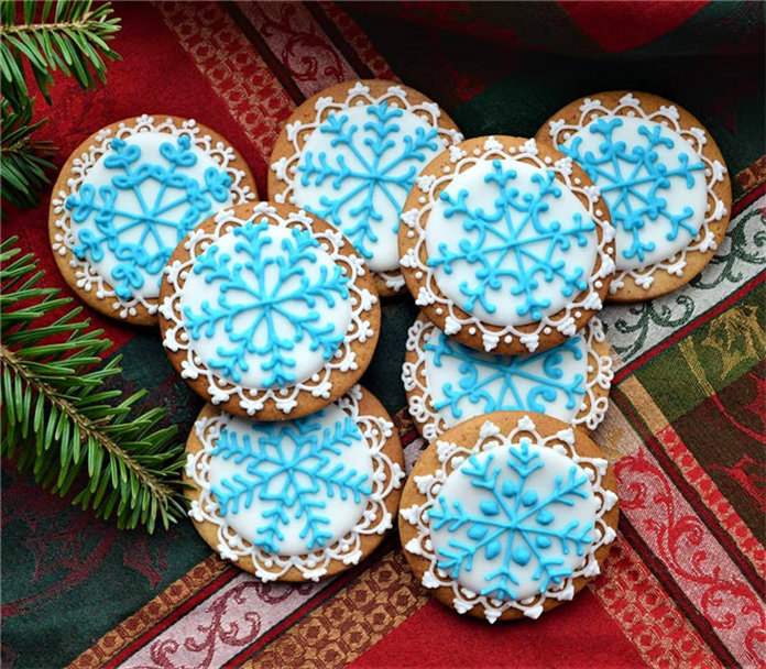 60+ Easy Snowflake Sugar Cookies Holiday Food Ideas 2019