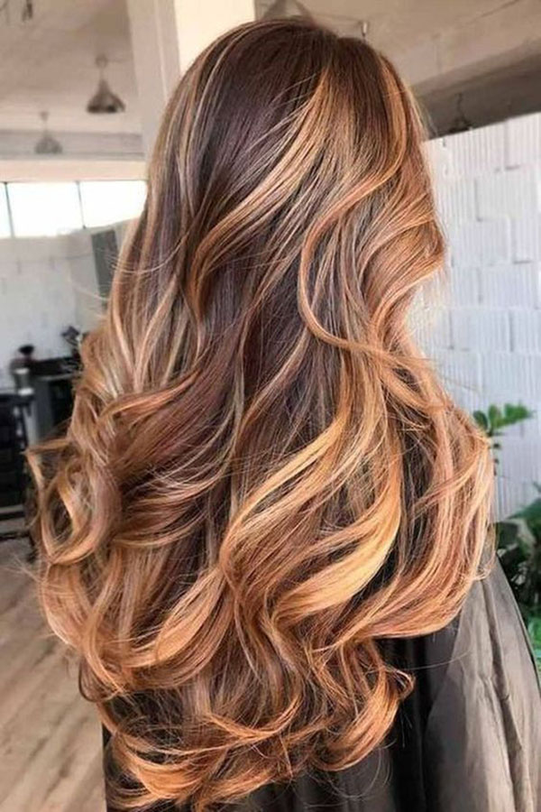 60+ Hair Colors Ideas & Trends for the Long Hairstyle Winter 2018 ...