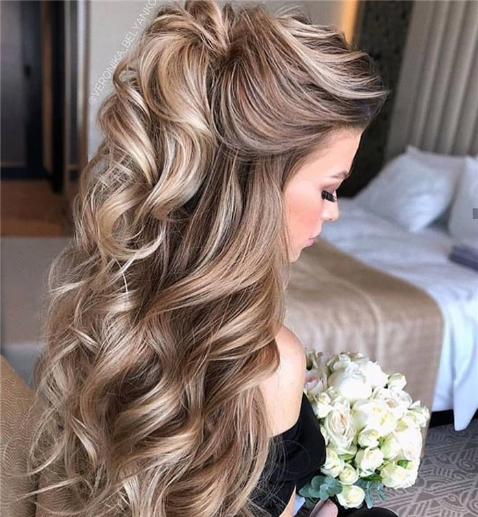 50 Beautiful Wedding Hair Styles Ideas 2019