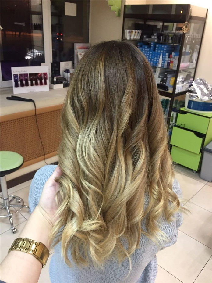 85 Pretty Gold Color Hairstyles Ideas 2019