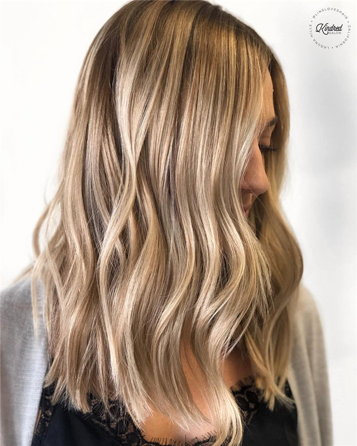 Balayage Hairstyle Ideas For Long & Short Hair, #BalayageHairstyle, #LongBalayageHairstyle
