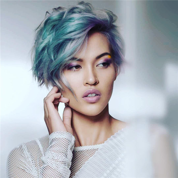 Stylish Edgy Pixie Cuts and Hairstyles, #PixieCuts, #PixieHairstyle