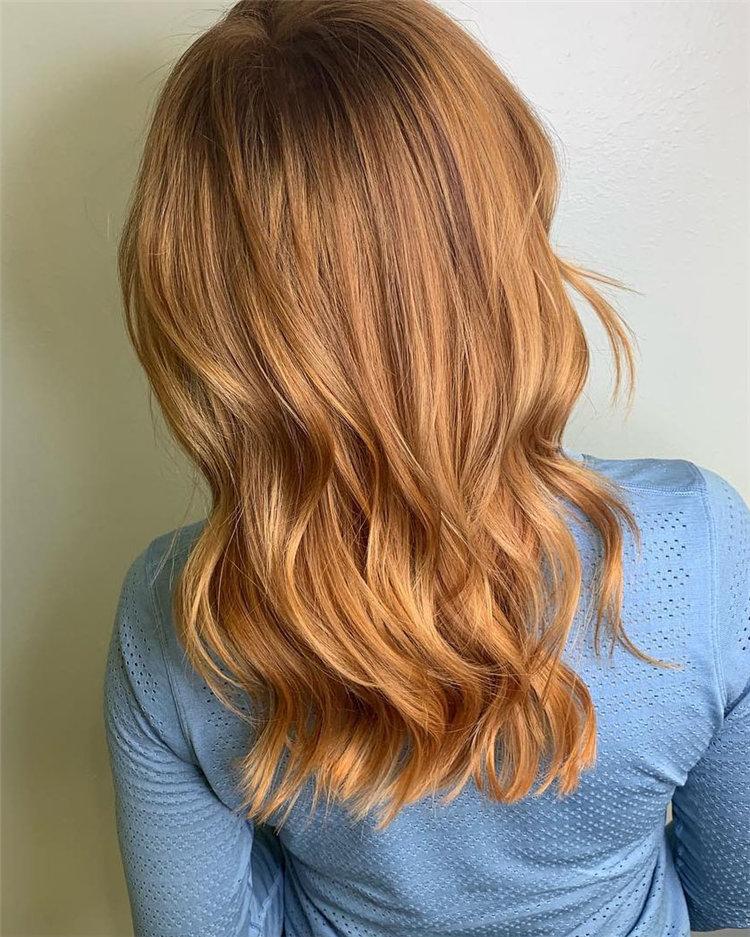 Trendy Medium Length Hair Ideas Inspirations 2019, #MediumLengthHair