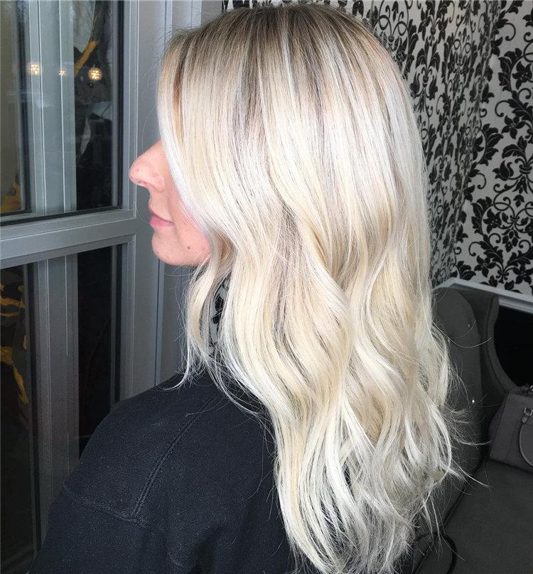 Balayage Ombre Hair Color Ideas For 2019; Balayage hair; balayage hair blone; ombre hair; ombre hair color; hair; hairstyle; #hair #hairstyles; #BalayageHair #BalayagehairBlone #OmbreHair; #OmbreHairColor