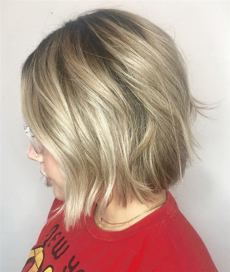Bob hairstyle inspiration, 60+Easy and Cute Bob Hairstyles and Haircuts You Shouldn't Miss for 2019, #BobHairstyle
