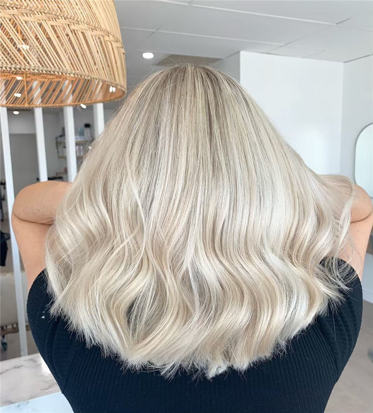 There are more than 50+ ideas about blonde bob hairstyles ideas and designs with positive meanings for girls, and these ideas look great in 2019. #BlondeBobHairstyles