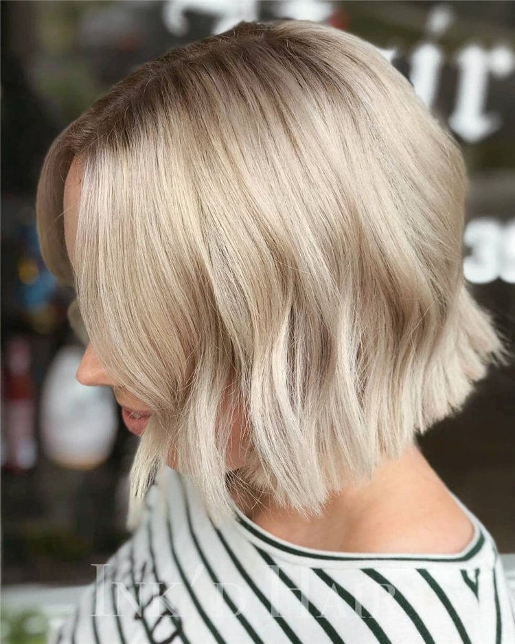 Want to find some cute wavy bob hairstyles? We collected 40+ wavy Bob hairstyles in this article, you can style it as you see fit, creating a variety of fun new looks. #CurlyBob #WavyBobWe've rounded up 60+ of the most impressive summer hair design ideas.
