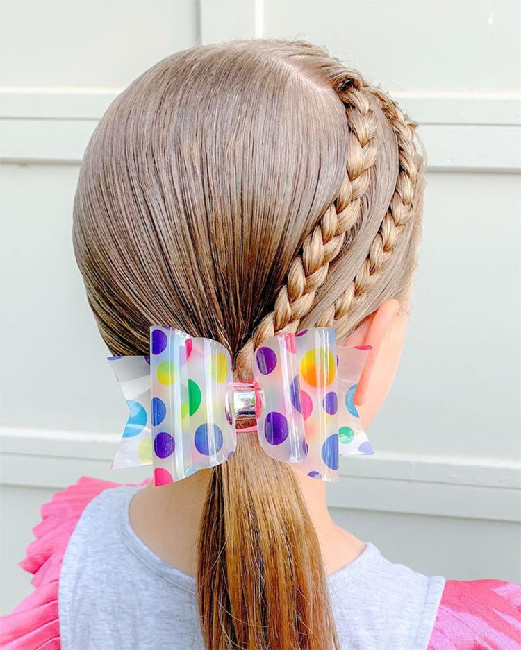 80+ Cutest braided Hairstyles for Little Girls and Kids - Soflyme