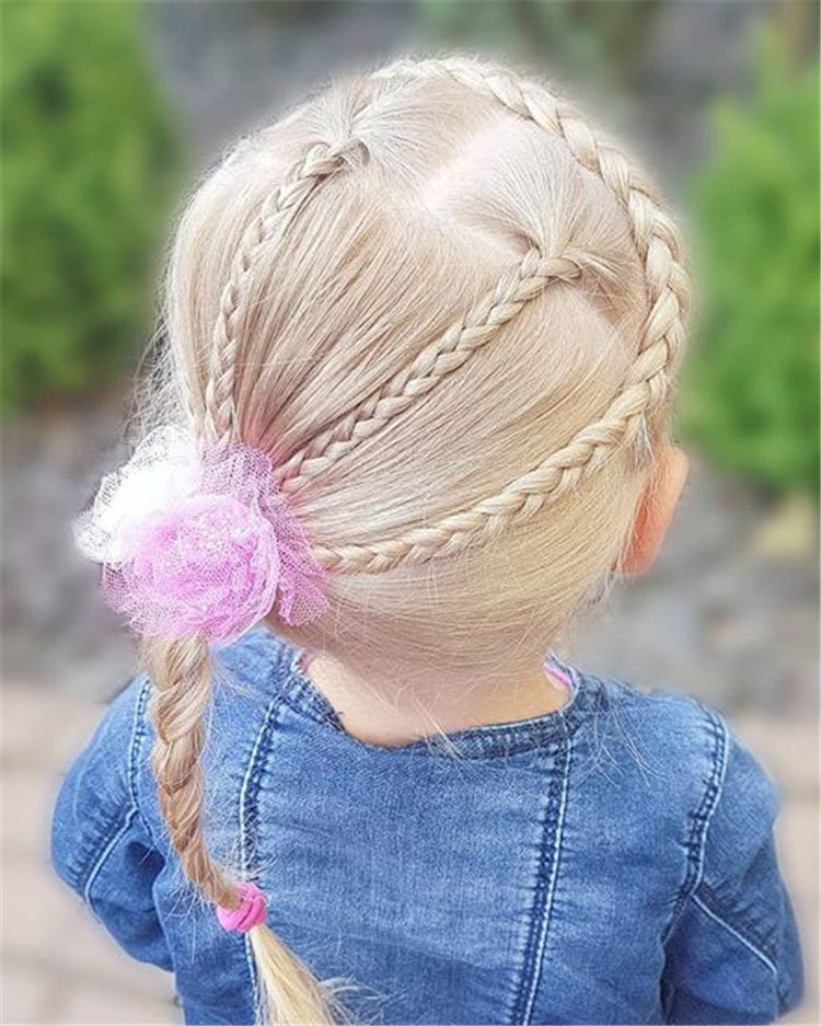 80 Cutest Braided Hairstyles For Little Girls And Kids Soflyme