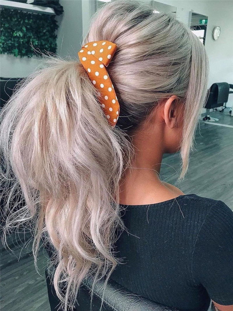 55 stylish and easy ponytail hairstyles, from glam to chic and simple. ponytail hairstyles suitable for any occasion, and it will always look stylish. Try and enjoy!   Soflyme.com