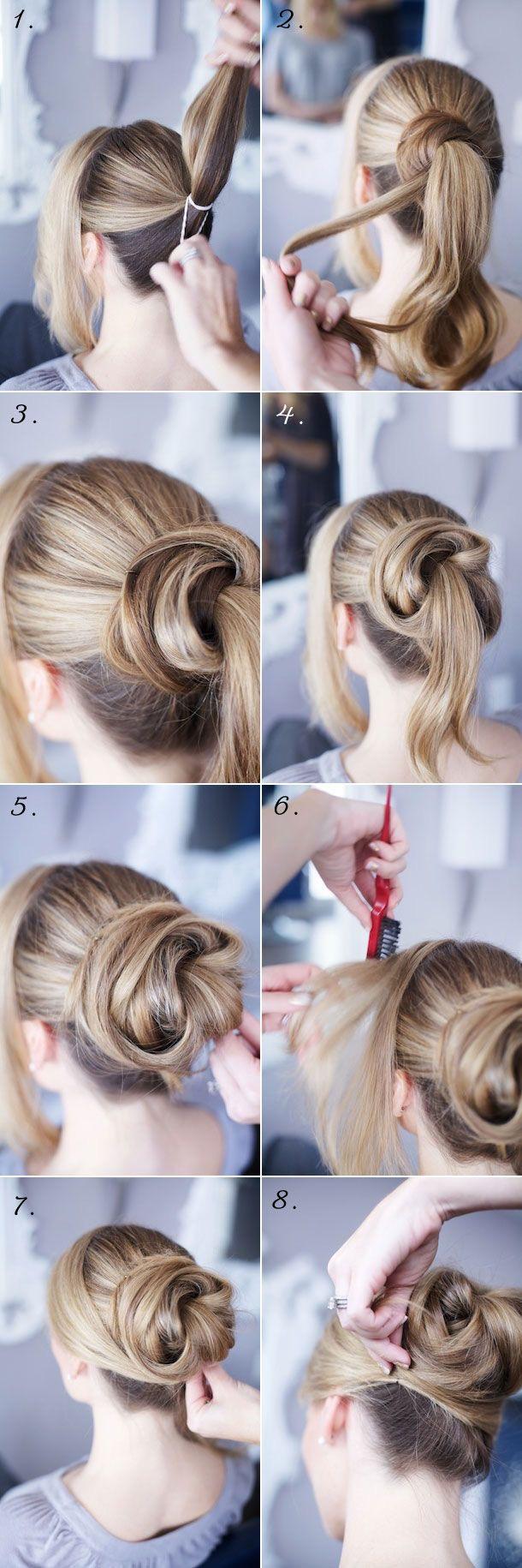 10 beautiful Yukata Hairstyles 10 - Soflyme