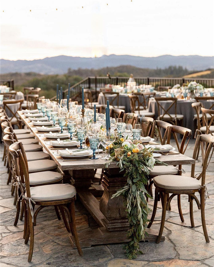 45 Wedding Table Setting Ideas 2019