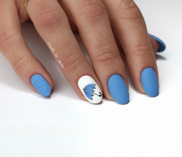 blue nails design trends, looks & ideas
