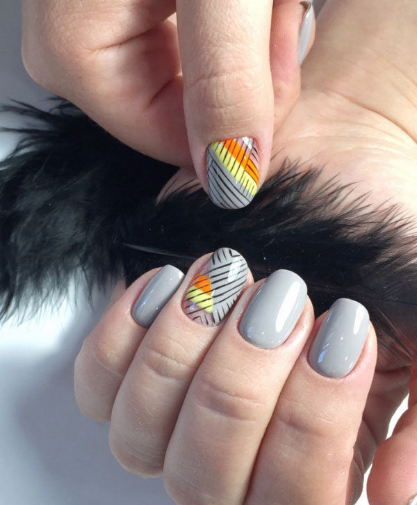 Stylish Fall Nail Art Design Ideas & Trends 2019-2020