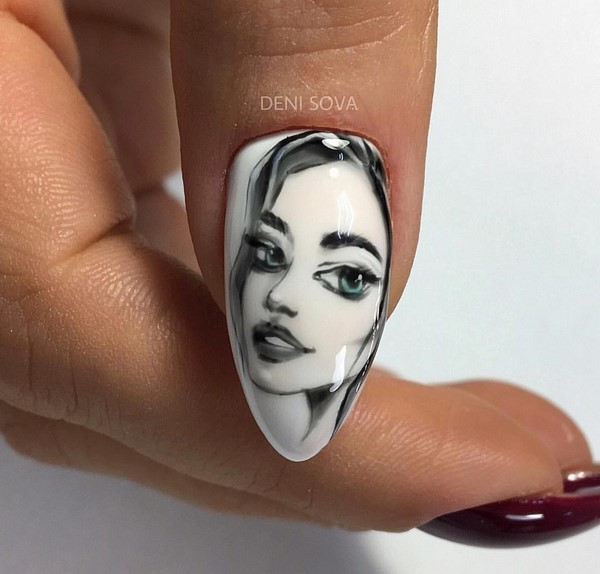 Newest Creative Nail Design Images 2021
