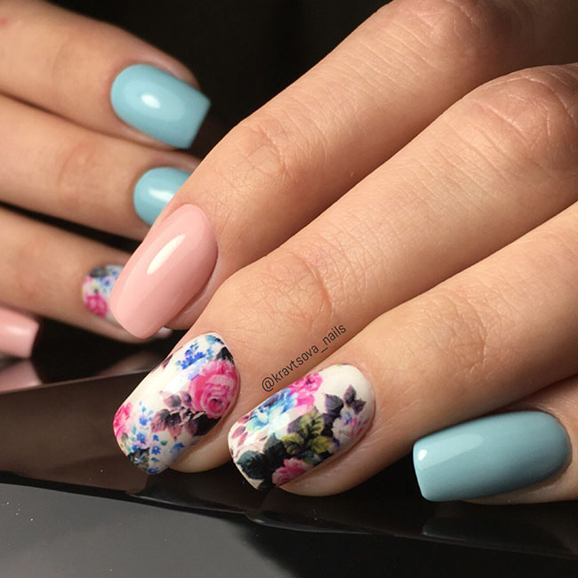 Easy Gel Polish Nail Art Ideas for Spring 2019