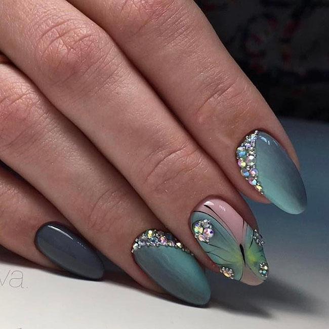 Easy Gel Polish Nail Art Ideas for Spring 2019