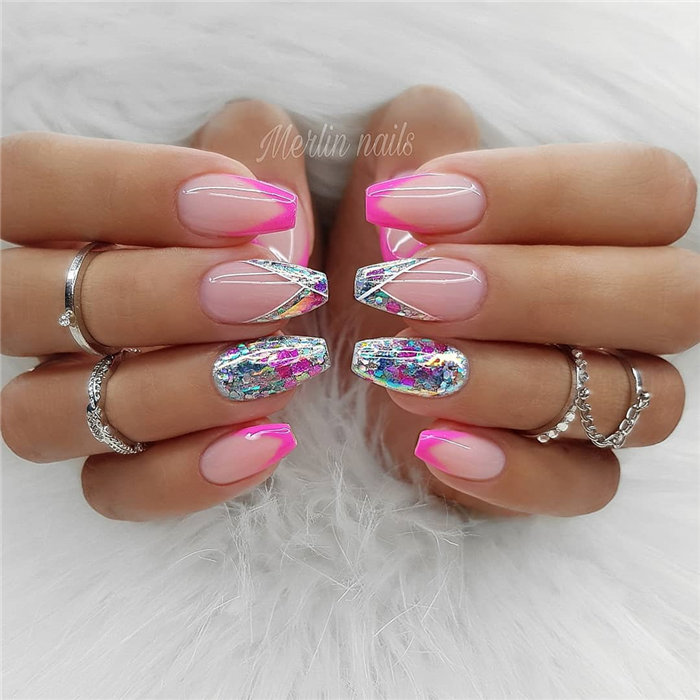 Gel Nail Designs: 70+ Wedding Natural Gel Nails Design Ideas For Bride 2019