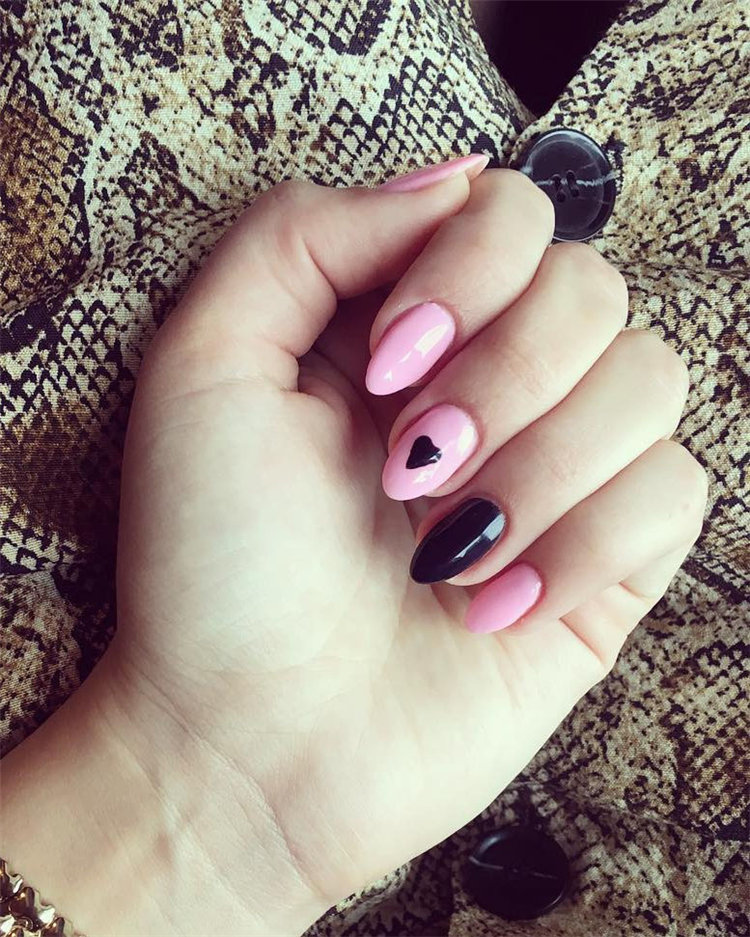 Nails Art Ideas and Inspiration for Valentine's Day in 2021, #ValentinesNail, #ValentinesDayNails