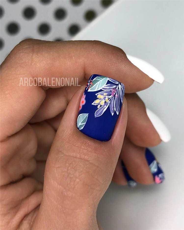 90+ Pretty & Easy Gel Nail Designs to Copy in 2019 - Page 11 of 97 ...