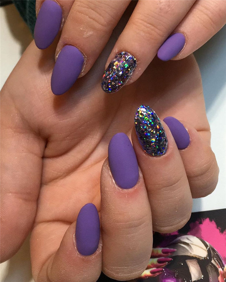 Trendy Matte Nails Designs Inspirations 2019, #MatteNails