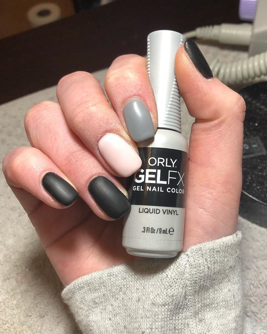 Trendy Elegant Long Matte Nails Art Inspirations, #Nails, #NailsArt, #MatteNailsArt