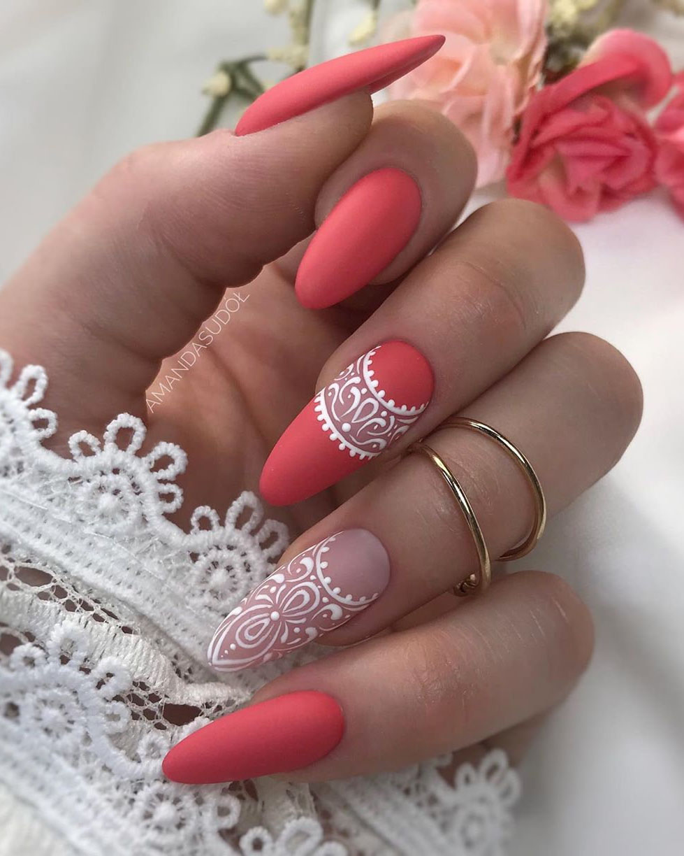 Trendy Gel Nails Designs Inspirations, #Nails, #NailsArt, #GelNails, #GelNailsDesigns