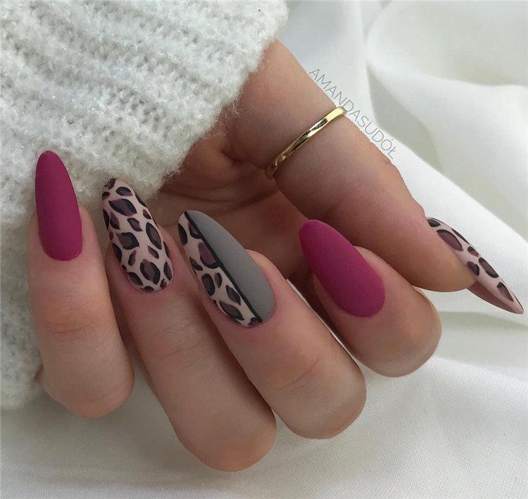 Trendy Gel Nails Designs Inspirations, #Nails, #NailsArt, #GelNails, #GelNailsDesigns