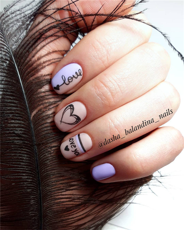 Spring Nail Ideas For Exceptional Look 2019; spring nails; spring nail colors; spring nails 2019; spring nail art; spring nail ideas; spring nails design; #springnails #springnailsdesign