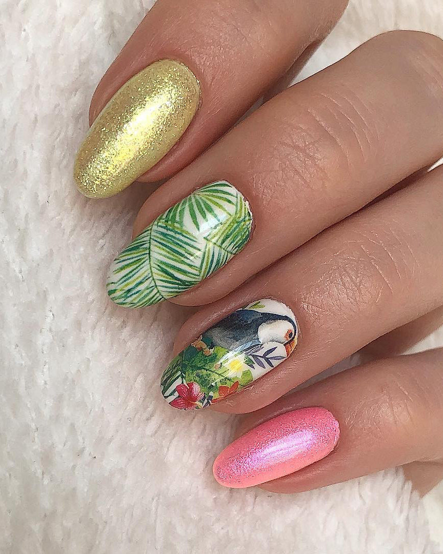 80 Long Acrylic Nail Art Designs Ideas For Summer 2019 Page 20 Of