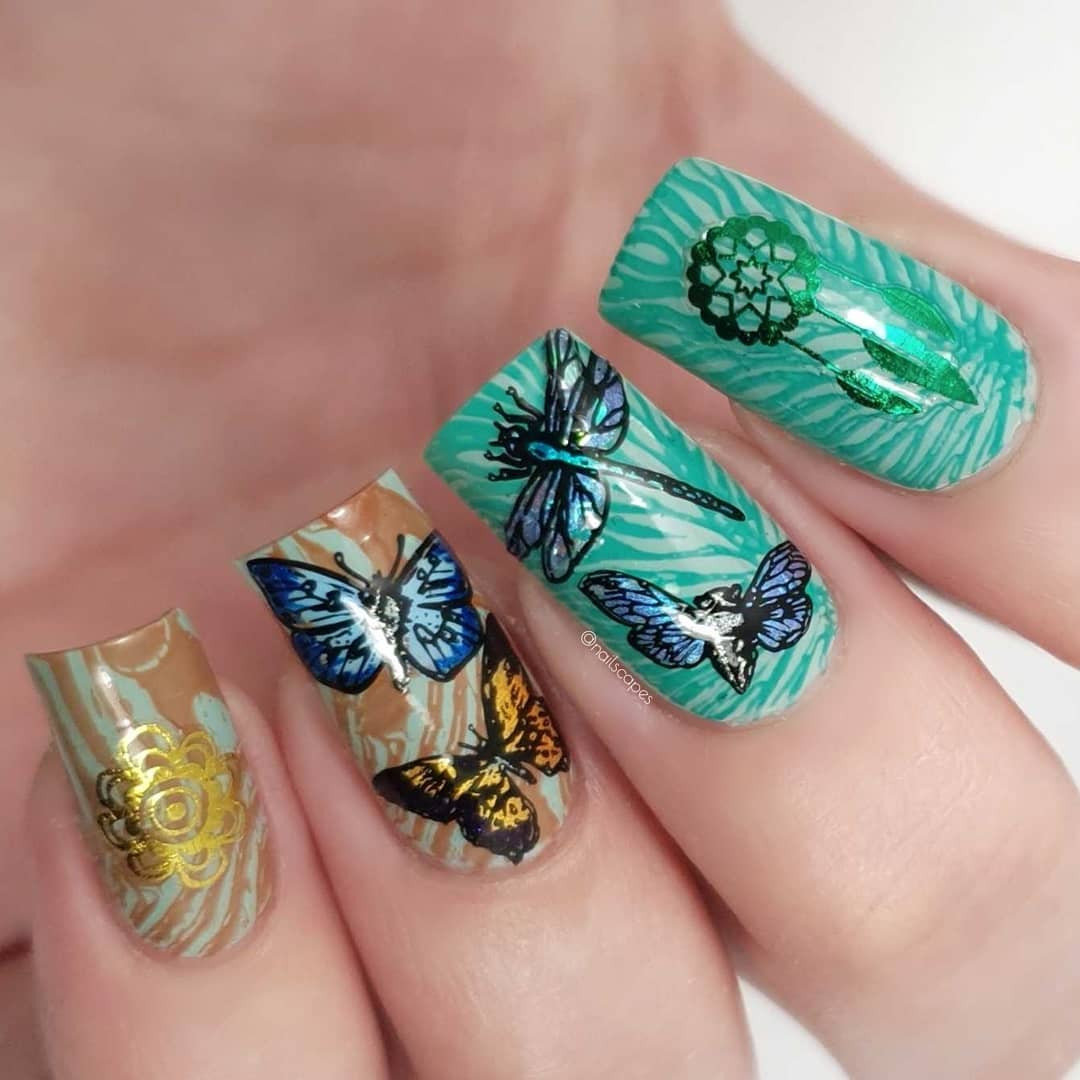 Long Acrylic Nail Art Designs For Summer 2019; nails designs; coffin nail designs; Long nails; nail art; nails; summer nails; Acrylic Nails; #AcrylicNails #longnails #summernails #nailart #nails