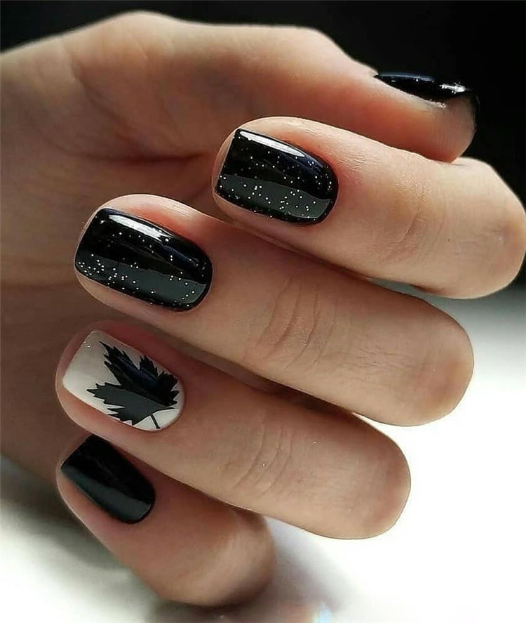 Cute Gel Manicure Designs That You Want To Copy; Best Gel Nail Design; Trendy Gel Nail Design Ideas
