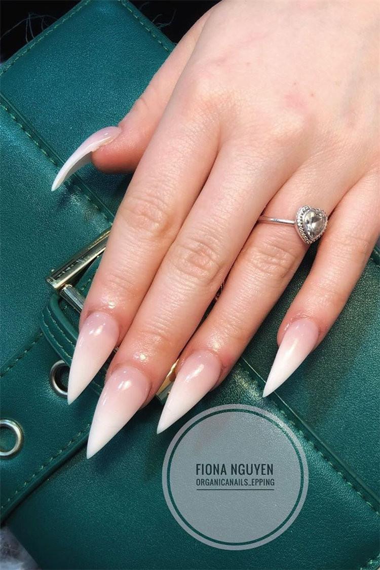 60+ Trendy Ombre Nails Design Ideas That Will Look Elegant 2021