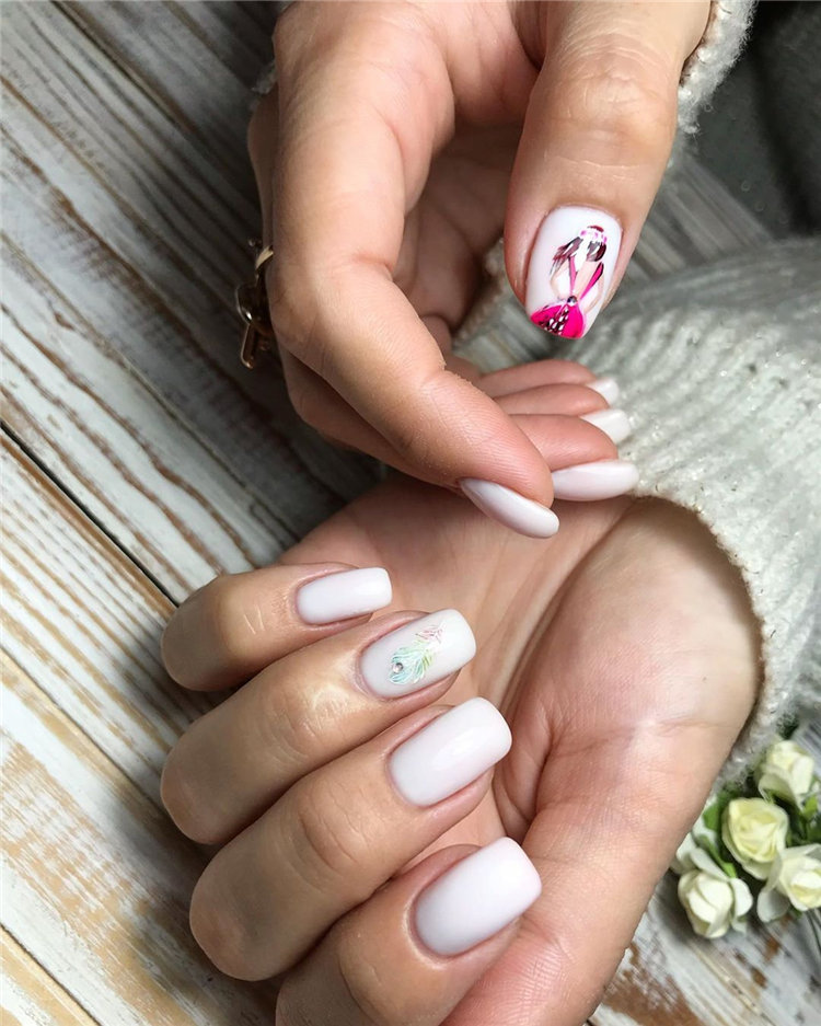 70+ Cute & Stylish Gel Summer Nails for 2019, Definitely have your favorite nail designs ideas, let's take a look.