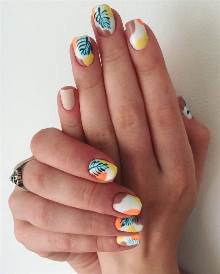 Want to get summer nail design ideas for the summer? Then you are in the right place! We have found 80+ stylish summer nail ideas that brighten up your look for this summer. #SummerNails #SummerNailArt #SummerNailsDesign #nails #nailsDesign