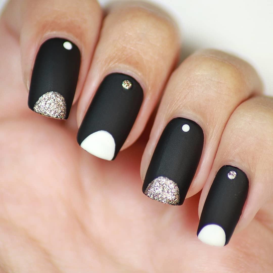 New Year Acrylic Nails