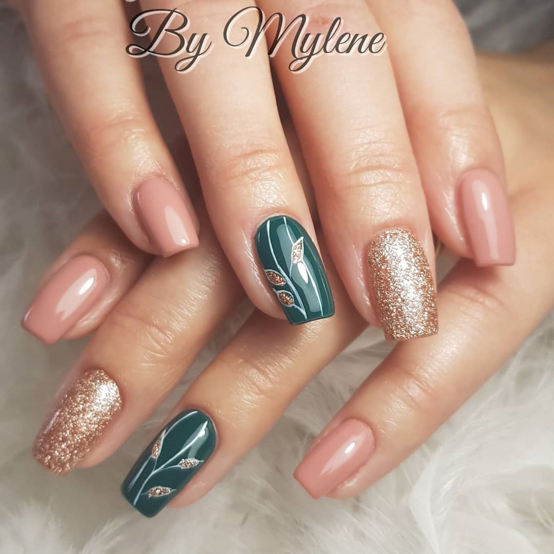 100 Easy New Year\u0027s Eve Nail Art Design Ideas , Soflyme