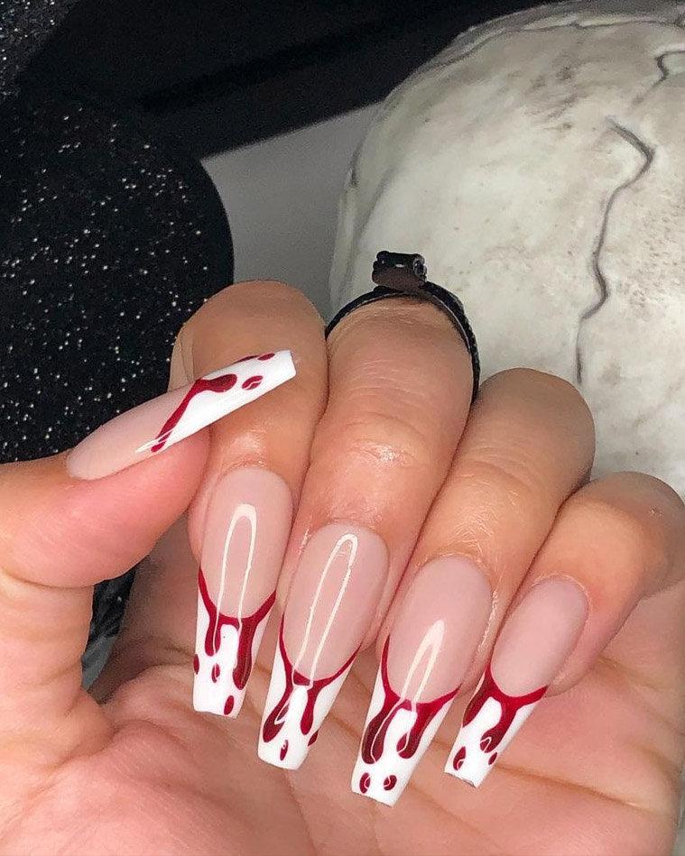 Halloween nails idea; Halloween nail design; Halloween manicure; Spider web nails; bat nails design; pumpkin nails design #halloweennails #sipdernails #pumpkinnailss
