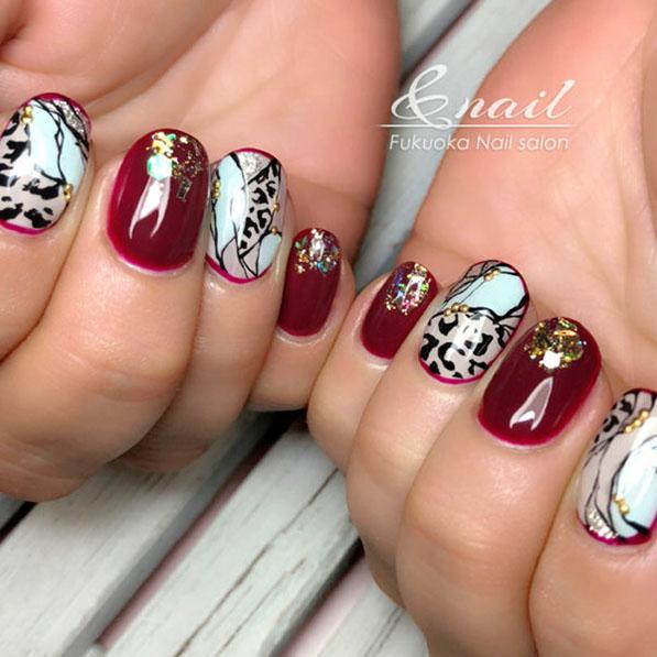 Almond Shaped Nail Designs Ideas