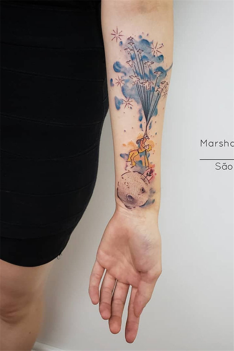 80 Stunning Watercolor Tattoo Ideas For Women Page 13 Of 80 Soflyme