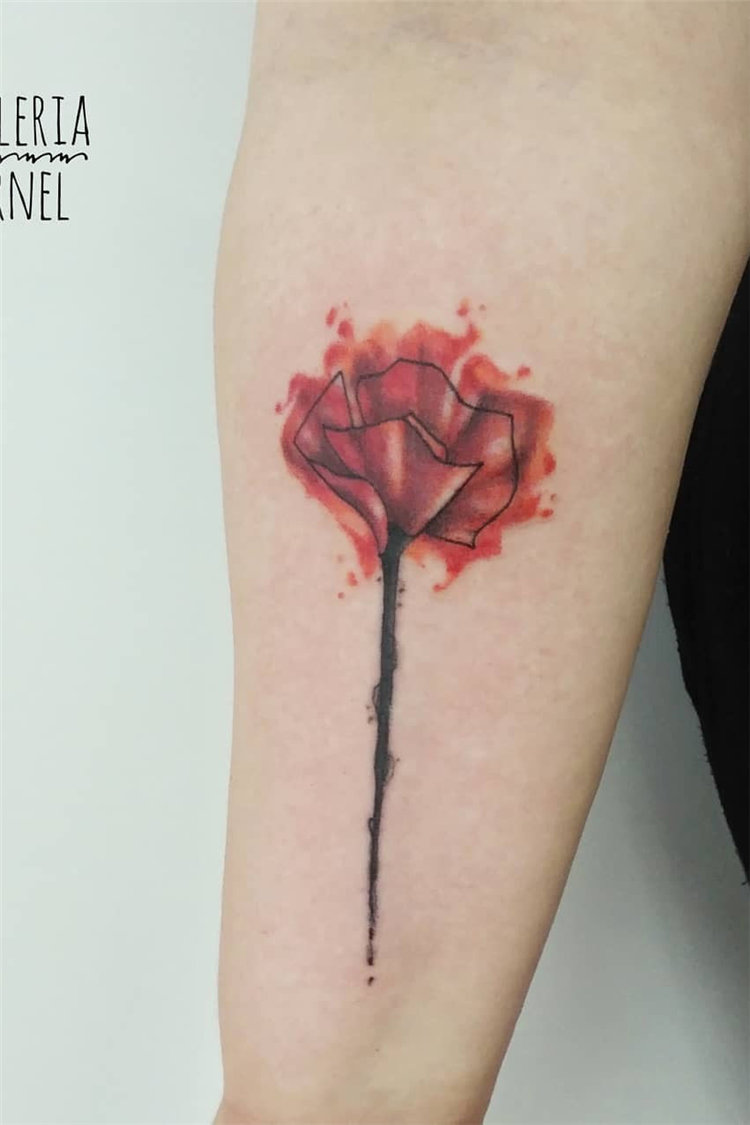 80+ Stunning Watercolor Tattoo Ideas for Women