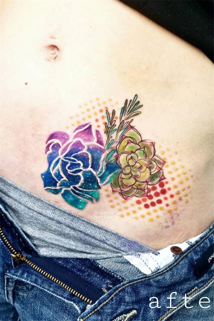 80+ Stunning Watercolor Tattoo Ideas for Women