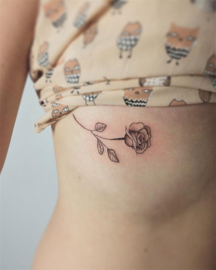 Rose tattoo idea, Are you looking for cute small tattoo ideas and inspiration, you can check out these 100 cute little tattoo ideas to inspire you!