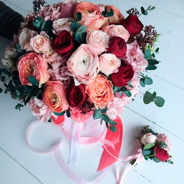 60+ Beautiful bouquets of flowers design trends 2018