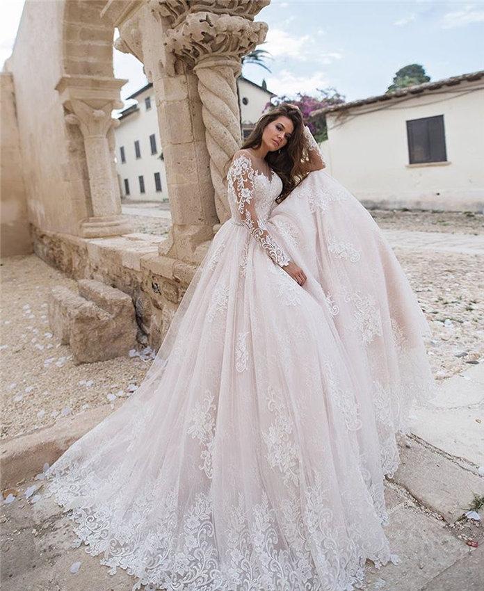Lace Wedding Dresses Inspiration for Bridal 2019, #WeddingDresses, LaceWeddingDresses